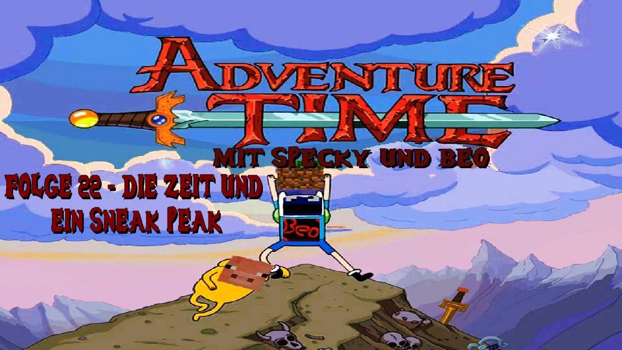 #022 Die Zeit und ein Sneak Peak - Adventure Time mit Specky und Beo