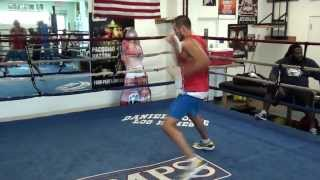 Sergey Kovalev training