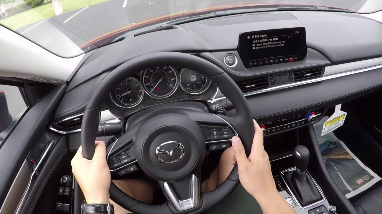 2018 Mazda 6 Grand Touring Reserve First Look Review