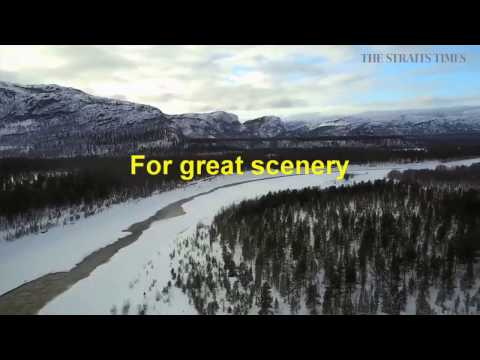 Winter adventure in Finland and Norway