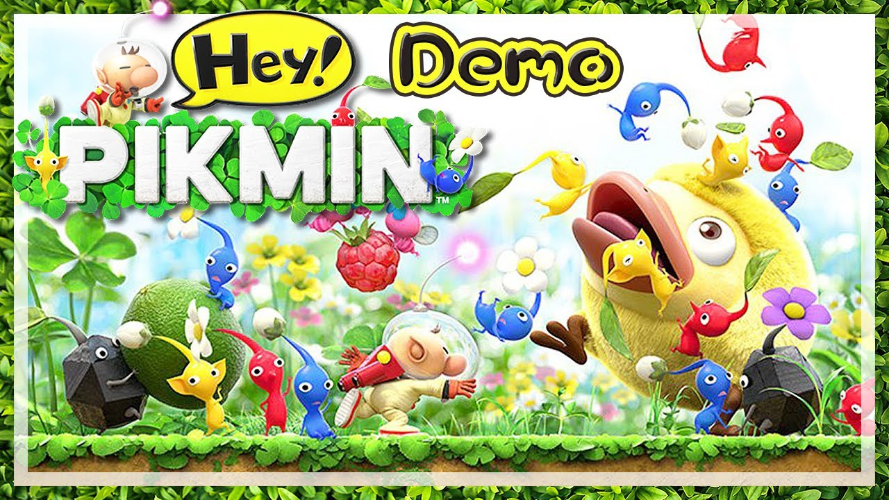 HEY! PIKMIN 🌼 Let\'s Play Hey! Pikmin Demo-Version [HD60] - YouTube