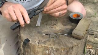 Fire Tricks  Duct Tape Bird Nest