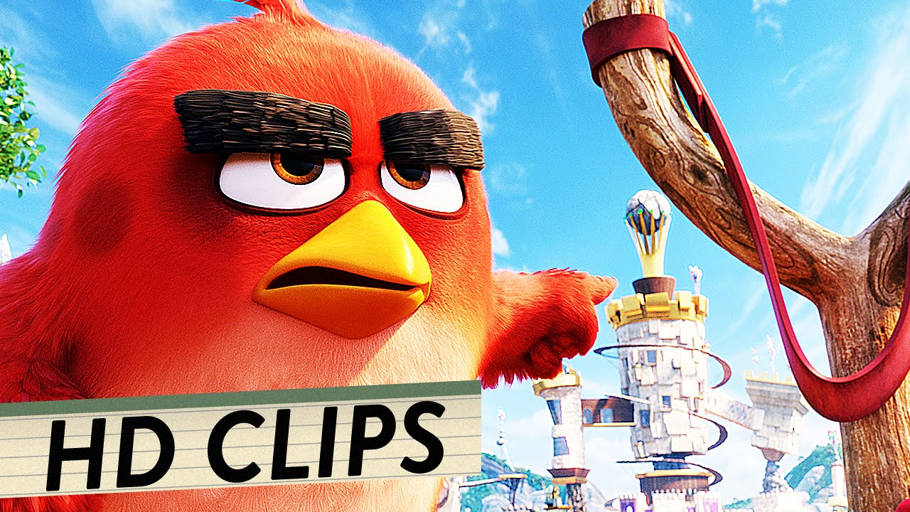 ANGRY BIRDS - DER FILM Alle Clips & Trailer Deutsch German (HD) | Animation 2016