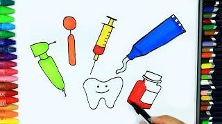 как рисовать медицинские материалы
