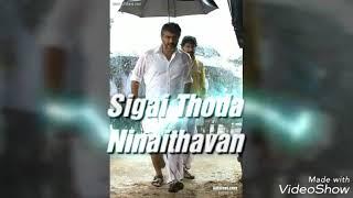Veeram sigai thoda ninaithavan lyrics status video Ajith kumar  siva