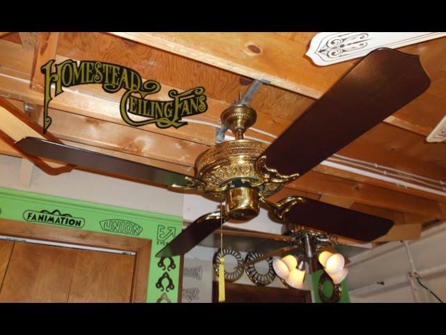 Homestead ceiling fans nhltv homestead whisperfan i ceiling fan aloadofball Choice Image
