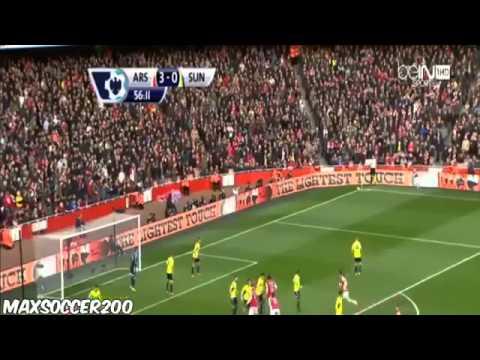 Arsenal vs Sunderland - 4-1 ~ All Goals & Highlights - 22/02/2014