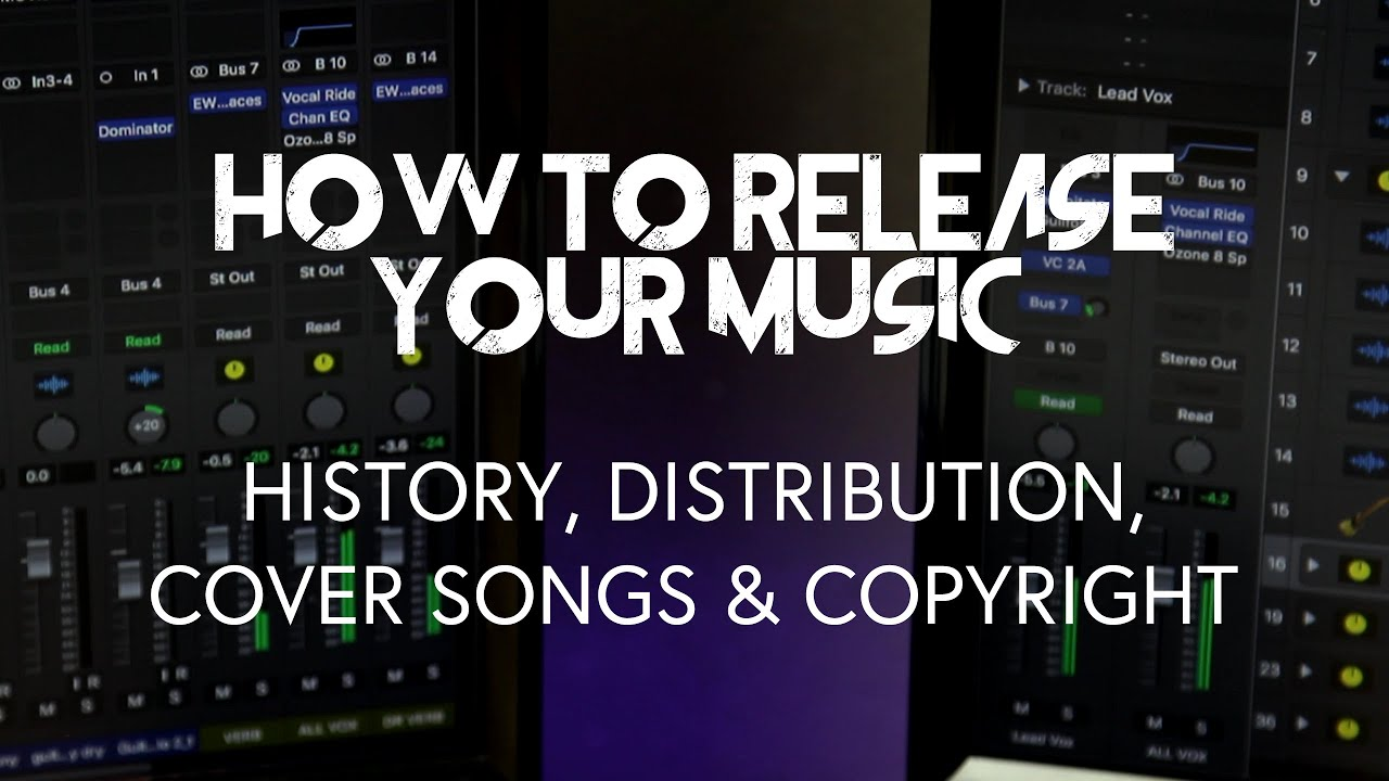 How To Release Your Music Amuse Distribution Cover Song Licensing Copyright Youtube