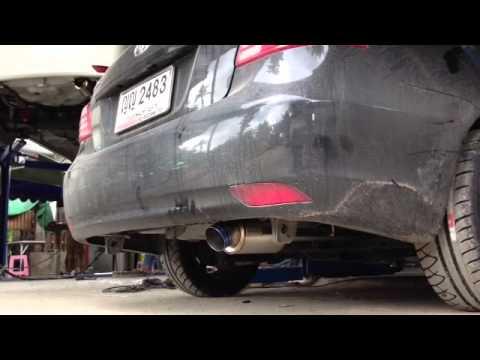 เสียงท่อ J's ใบจิ๋ว ใน Toyota New Vios 2012