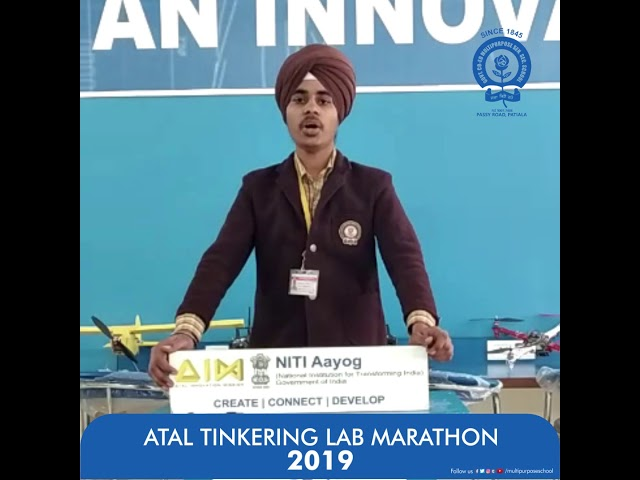 #Atal_Tinkering #Marathon2019 #Research #Ideate #Govt_Co_Ed_Multipurpose_School