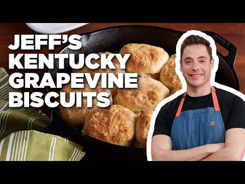Jeff Mauro Makes Kentucky Grapevine Biscuits | Food Network