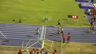 Digicel Grand Prix 2018 Boys U17 200m