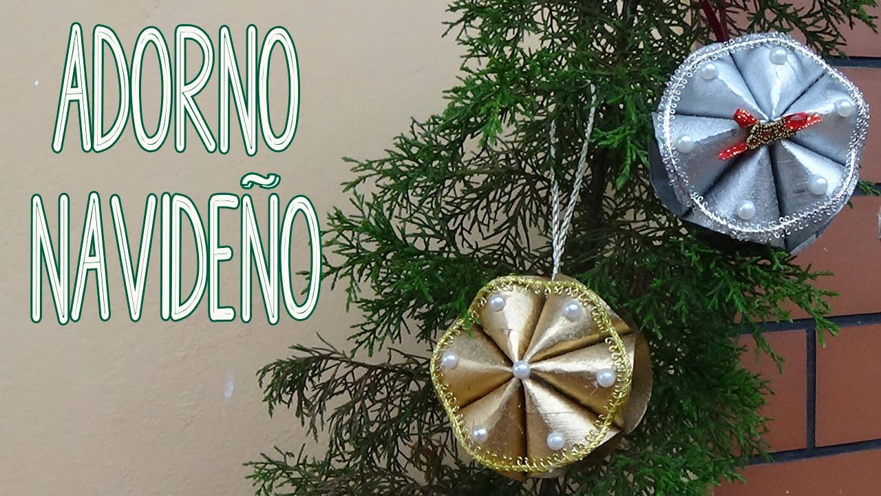 Adorno navide o hecho con tubos de papel higi nico candy for Adornos navidenos hechos con reciclaje