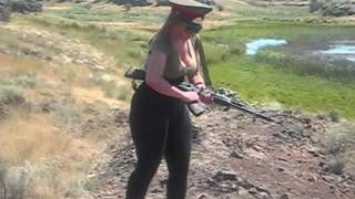 Repeat youtube video hot redhead with huge booty shooting gun