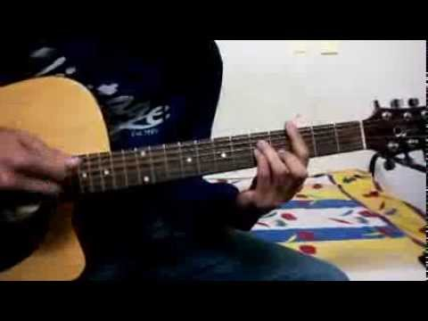 Guitar Chord Lesson Baarish (Is darde dil ki Sifarish) yaariyan with barre and detailed open chords