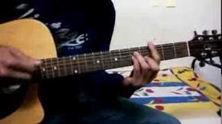Guitar Chord Lesson Baarish (Is darde dil ki Sifarish) yaariyan with barre and detailed open chords