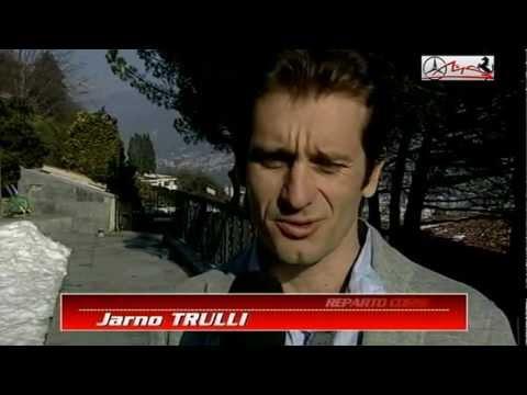 Intervista a Jarno Trulli dopo il ritiro dalla F1 (22/02/2012)