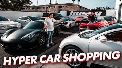 HYPER CAR SHOPPING AT iLUSSO! WHAT TO BUY?!