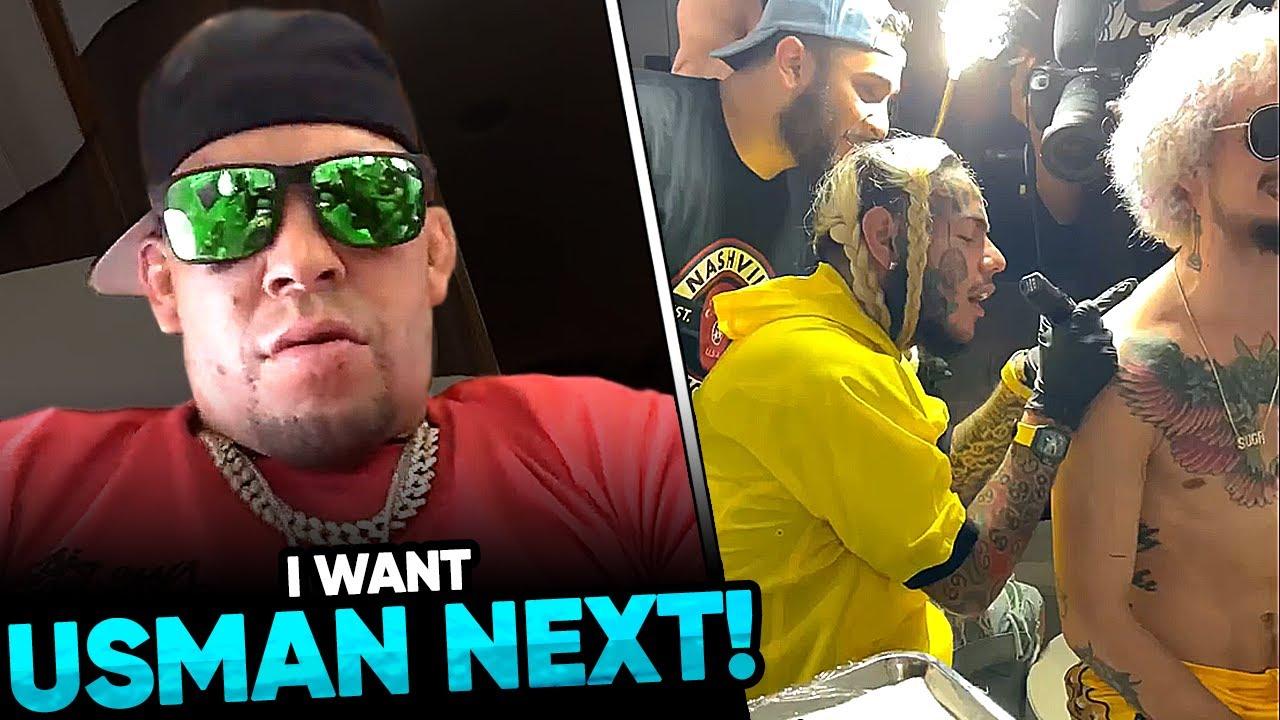 Nate Diaz wants a TITLE SHOT against Kamaru Usman, Tekashi 69 INKS Sean O'Malley, Conor McGregor sen