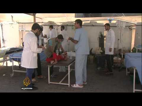 Chaos and death in Rafah UN shelter