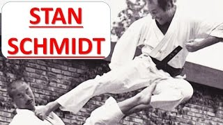 Stan Schmidt,Karate Hero from South Africa, made by Keith Geyer of JKA-SKC Australasia
