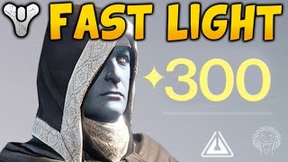 Destiny: FASTEST WAY TO GET MORE LIGHT! Tips To Reach Higher Light Levels & Rank Up Fast