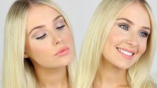 FIRST IMPRESSIONS: Full Face of Makeup! | Lauren Curtis