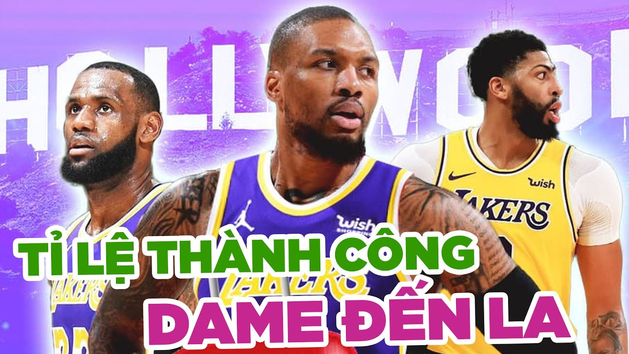 Độ khả thi của bom tấn Damian Lillard đến Los Angeles Lakers là bao nhiêu?