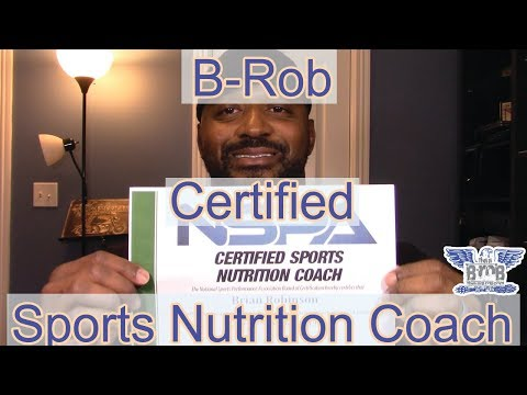 B Rob | Certified Sports Nutrition Coach