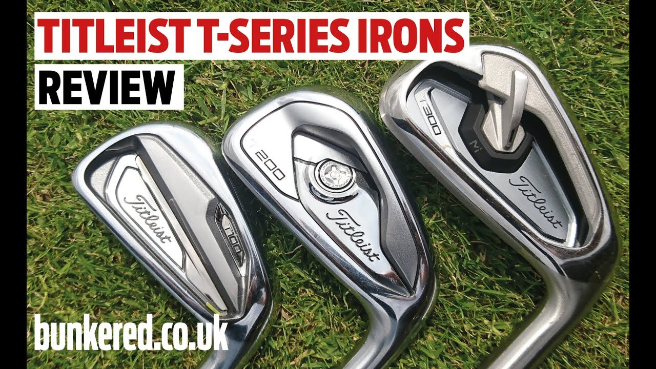 FIRST REVIEW! TITLEIST T-SERIES IRONS!