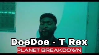 DOEDOE - T REX (MUSIC VIDEO) 🎥 THEHITBRAINIAC | PLANET BREAKDOWN | REACTION