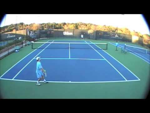 Chris Dale practice match