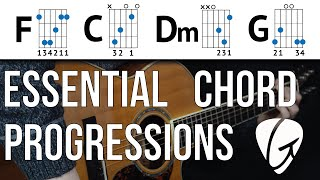 Chord Progression Practice - F C Dm G