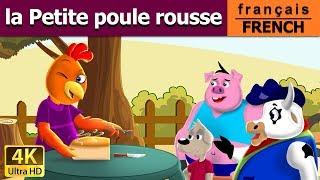 La Petite Poule Rousse | Histoire Pour S'endormir |Histoire Pour Les Petit| Contes De Fées Français