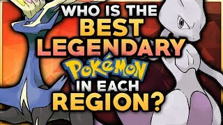 Who Is The BEST Legendary Pokemon In Each Region?