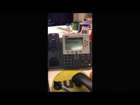 White House Answering Machine During Shutdown