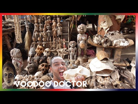THIS HAPPENS AT A VOODOO MARKET IN TOGO 🇹🇬