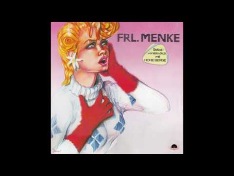 """Frl Menke – """"Hohe Berge"""" LP vers Germany Polydor 1982"""