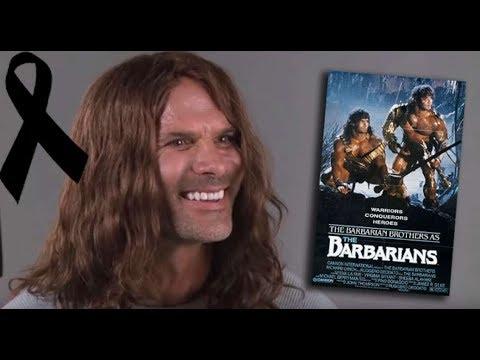 R.I.P. David Paul (Barbarian Brothers)