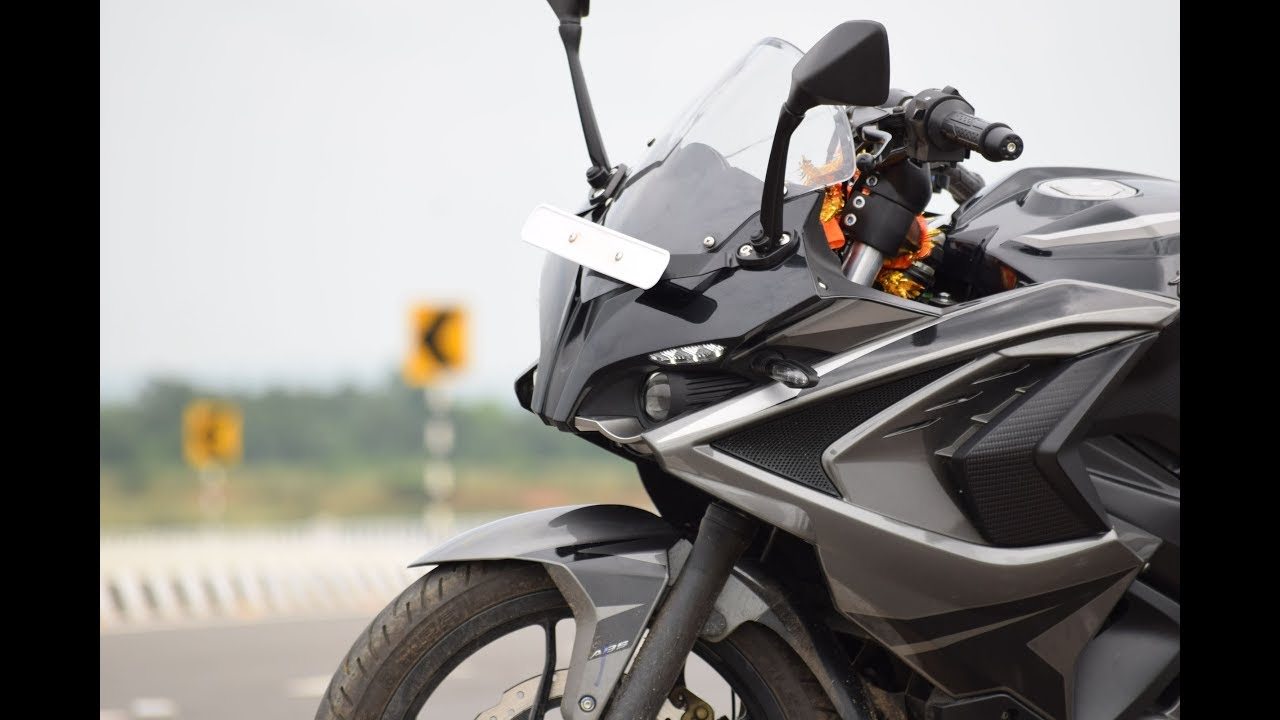 New Bajaj PULSAR RS 200 Graphite GREY |ABS | 2018