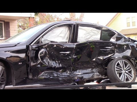 Clifton Fire Department Serious 2 Car Motor Vehicle Accident Union And 5th 11-11-17