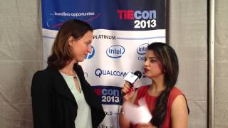 Sissy Mueller of Green Crowding @GCROWDING) @TiEcon