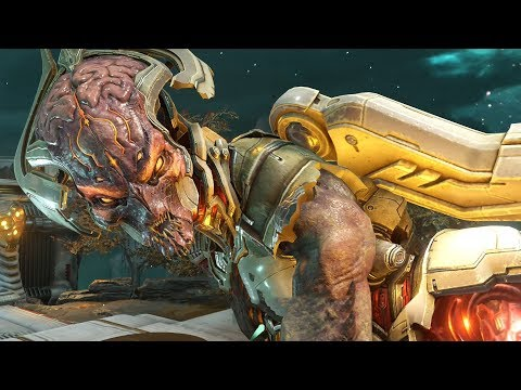DOOM Eternal - All Bosses / All Boss Fights And Ending
