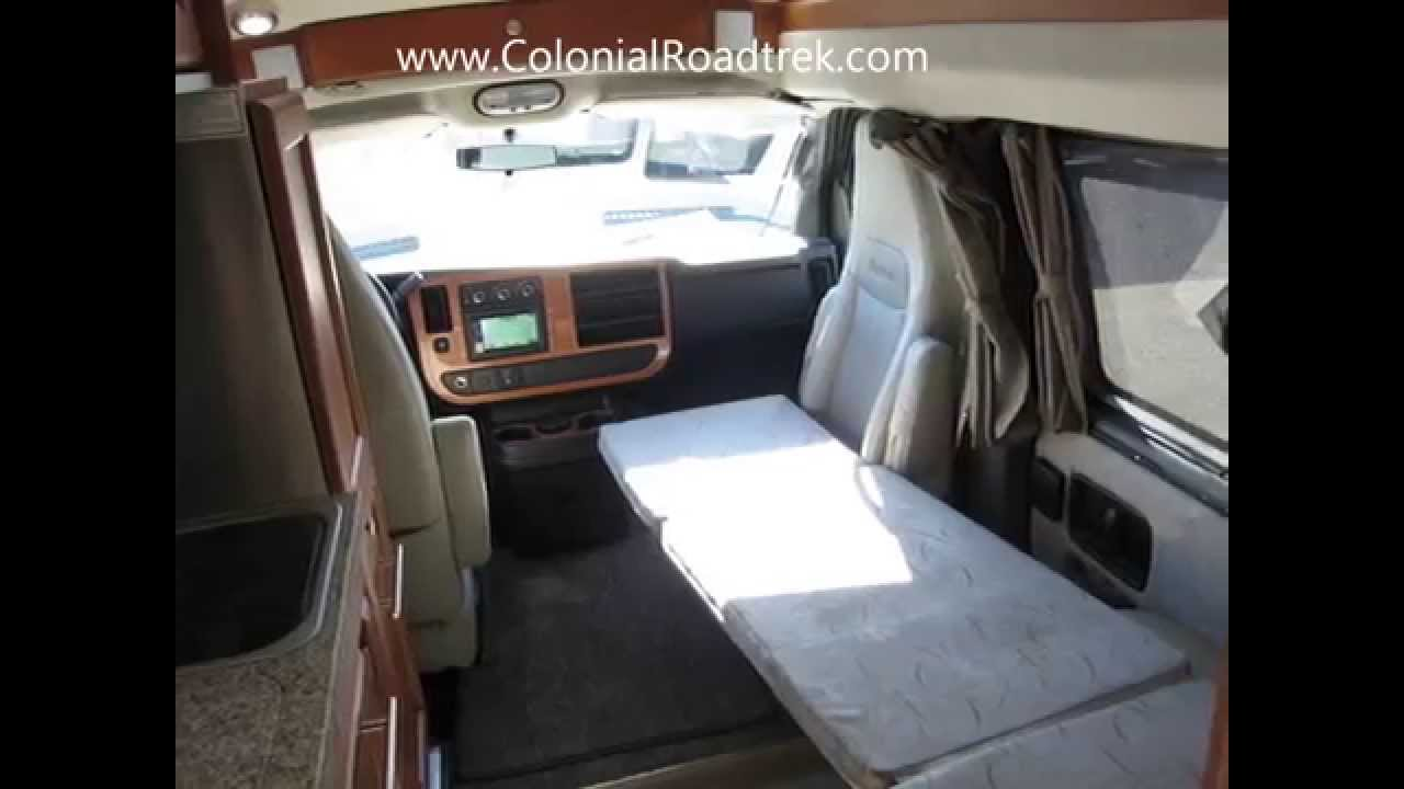 2013 Roadtrek 190 Popular Chevy Express One Ton Van Conversion For Camping And Traveling