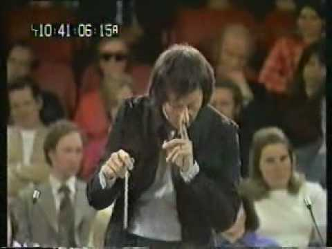 Andre Previn rehearses Beethoven 7th symphony
