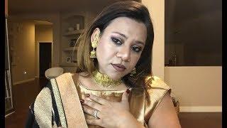 Glam Diwali 2017 make up tutorial