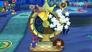 Mario Party 10 Mario Party #155 Mario vs Waluigi vs Donkey Kong vs Toad Whimsical Waters Master