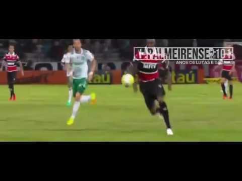 Melhores Momentos de Santa Cruz 2 x 3 Palmeiras 03/10/2016 - COMPLETO Brasileirão 2016