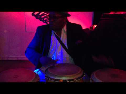 Cuban percussionist Changui Jaca in Norway ( Bergen)