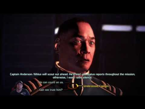 Mass Effect Let's Play #2 | R.I.P Richard Larry Jenkins